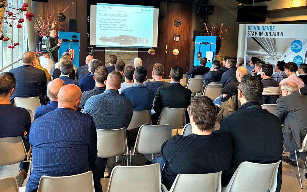 Qcharge Eleqtron seminar bij Sparta Rotterdam 30 januari 2020