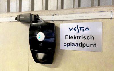 Vestia kiest voor collectief opladen met Qcharge